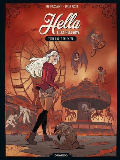 Couverture Hella et les hellboyz tome 1