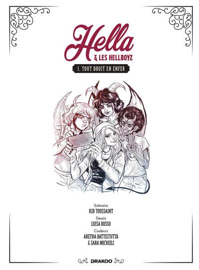 Page 2 Hella et les hellboyz tome 1