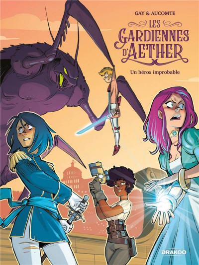 Couverture Les gardiennes d'aether tome 1