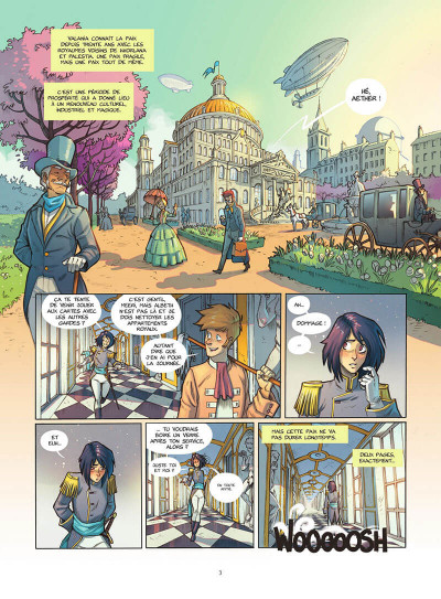 Page 4 Les gardiennes d'aether tome 1