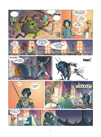 Page 8 Les gardiennes d'aether tome 1