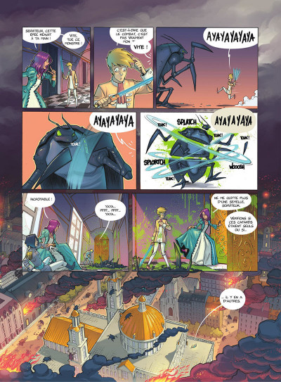 Page 9 Les gardiennes d'aether tome 1