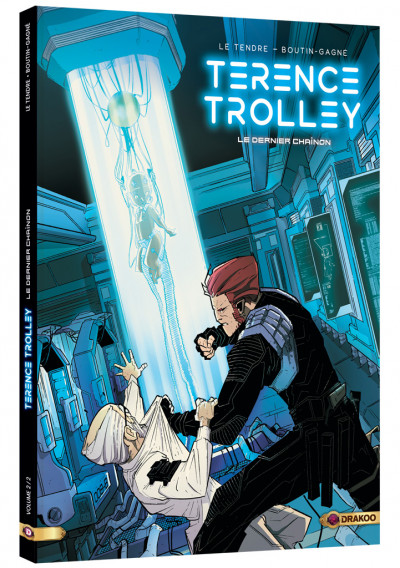 Couverture Terence Trolley tome 2