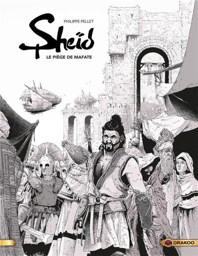 Couverture Sheid (noir et blanc) tome 1