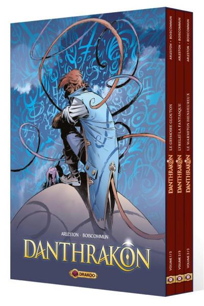 Couverture Danthrakon - coffret tomes 1 à 3