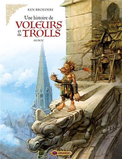 Couverture Une histoire de voleurs et de trolls tome 2