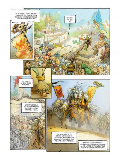 Page 0 Une histoire de voleurs et de trolls tome 2