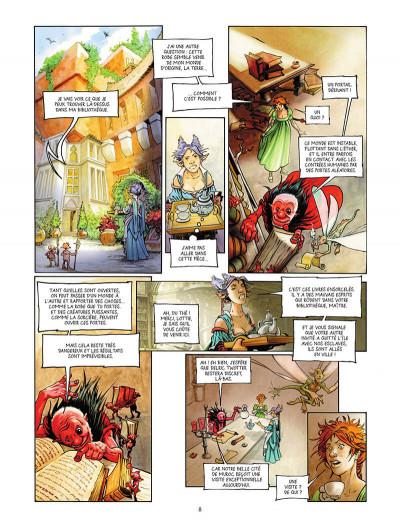Page 9 Une histoire de voleurs et de trolls tome 2
