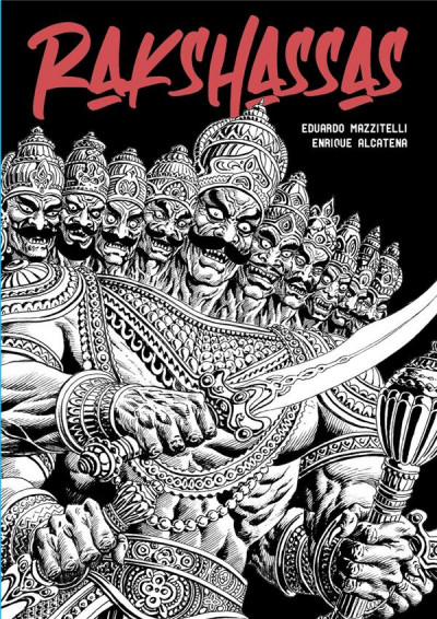 Couverture Rakshassas - le livre des démons