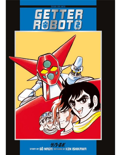 Couverture Getter robot tome 2