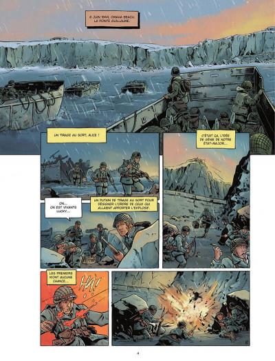 Page 4 Gravé dans le sable