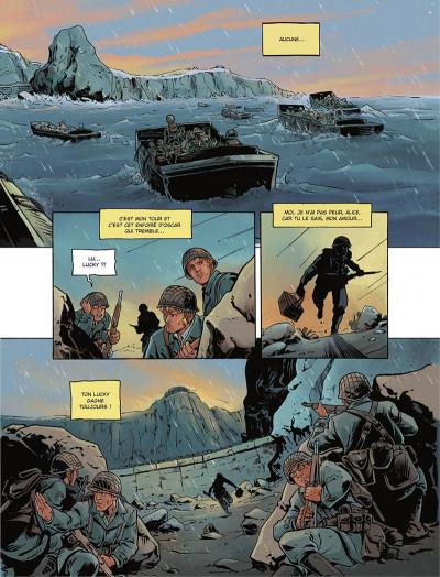Page 5 Gravé dans le sable
