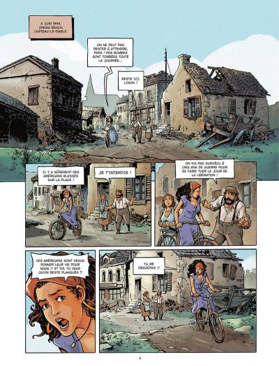 Page 6 Gravé dans le sable