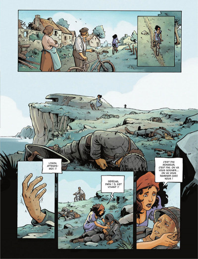 Page 7 Gravé dans le sable