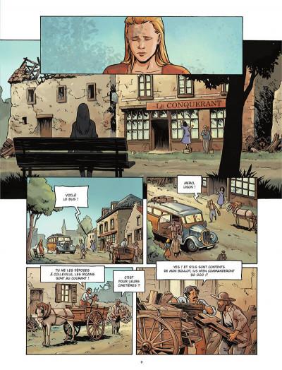 Page 9 Gravé dans le sable