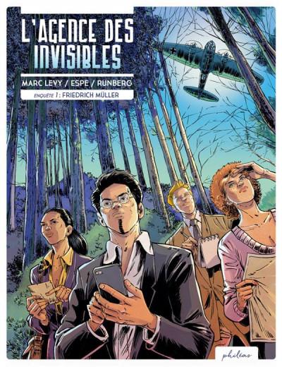 Couverture L'agence des invisibles tome 1