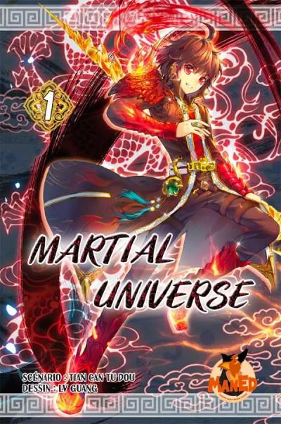 Couverture Martial universe tome 1