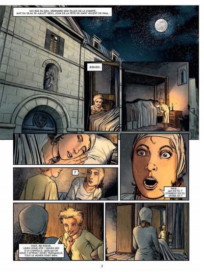 Page 3 La médaille miraculeuse - Les apparitions de la rue du bac