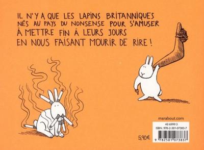 Dos Le coup du lapin tome 1