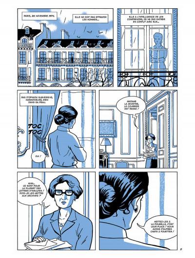 Page 5 Simone Veil - L'immortelle