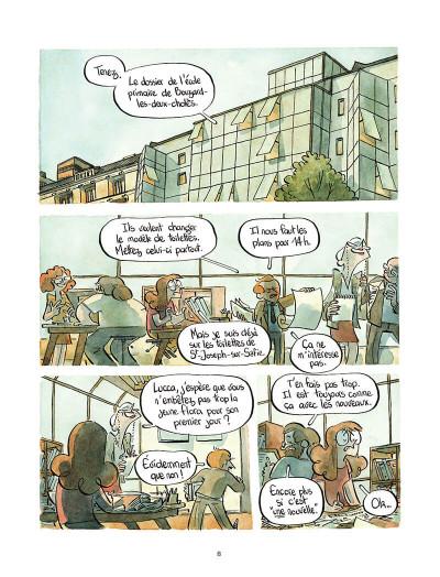 Page 9 Le chantier