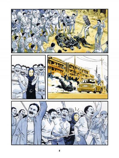Page 8 Nina dans la gueule du loup
