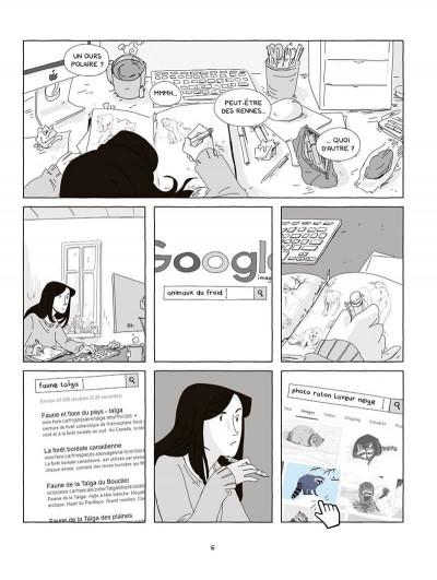 Page 7 La fille dans l'écran