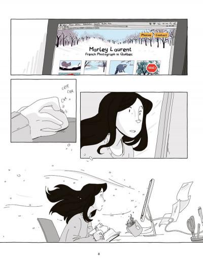 Page 9 La fille dans l'écran