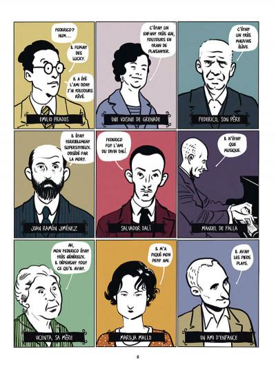 Page 6 Garçía Lorca, Dalí, Buñuel et les autres...