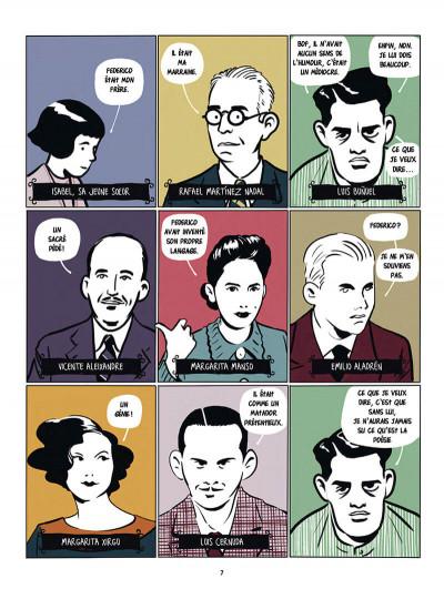 Page 7 Garçía Lorca, Dalí, Buñuel et les autres...