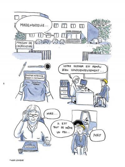 Page 6 Il est où le patron ? Chroniques de paysannes