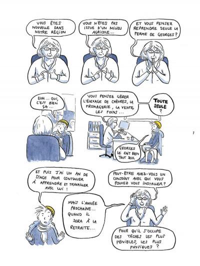 Page 7 Il est où le patron ? Chroniques de paysannes