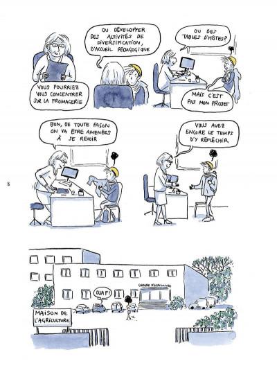 Page 8 Il est où le patron ? Chroniques de paysannes