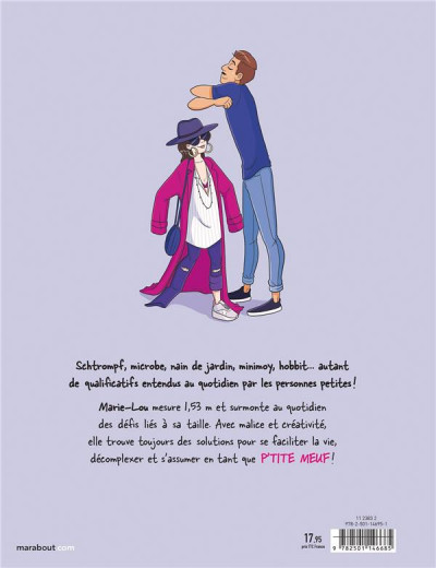 Dos Les ptites meufs - Le quotidien des femmes de moins d'1m60