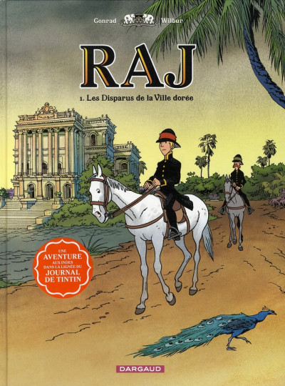 image de Raj tome 1 - les disparus de la ville dorée