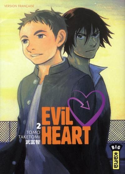 Couverture evil heart tome 2