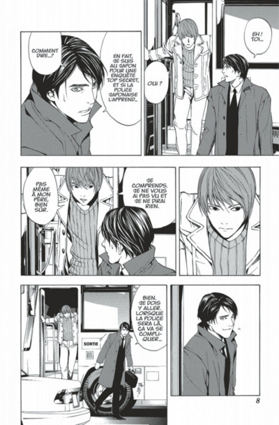 Page 8 death note tome 2