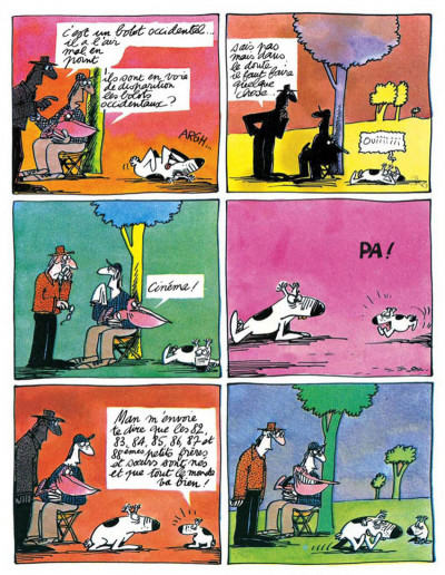 Page 3 les bretécher amours écologiques du bolot occidental