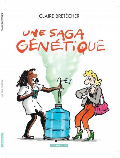 Couverture une saga génétique