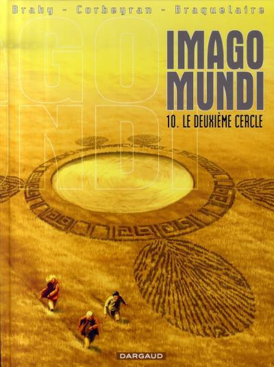 Couverture imago mundi tome 10 - le deuxième cercle