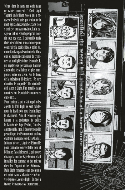 Page 5 death note tome 3