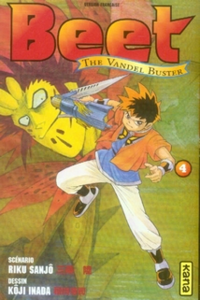 Couverture beet the vandel buster tome 4