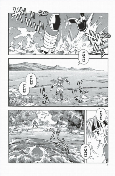 Page 8 beet the vandel buster tome 4