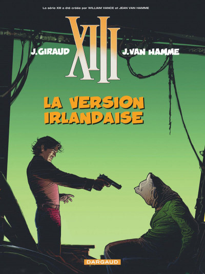 Couverture xiii tome 18 - la version irlandaise