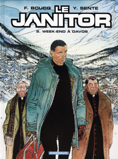 Couverture le janitor tome 2 - week-end à davos