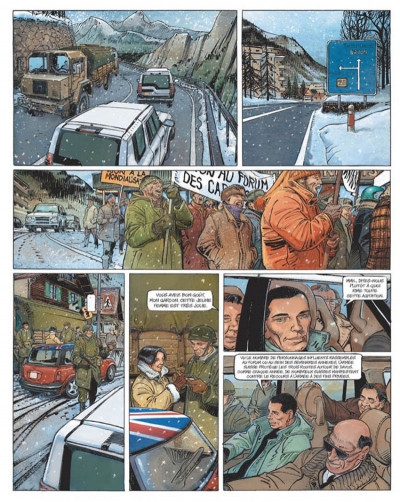 Page 4 le janitor tome 2 - week-end à davos
