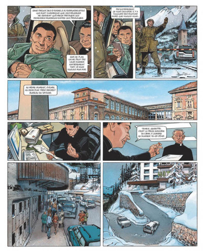 Page 5 le janitor tome 2 - week-end à davos