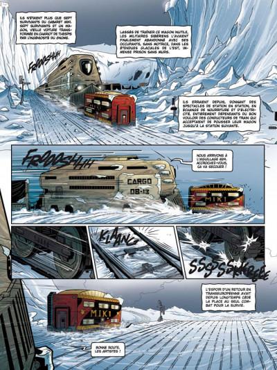 Page 1 la compagnie des glaces - cycle cabaret miki tome 5 - la fin d'un rêve
