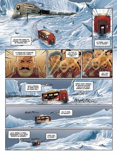 Page 2 la compagnie des glaces - cycle cabaret miki tome 5 - la fin d'un rêve