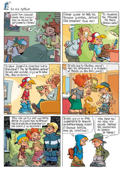 Page 4 la smala tome 8 - la vie est belle
